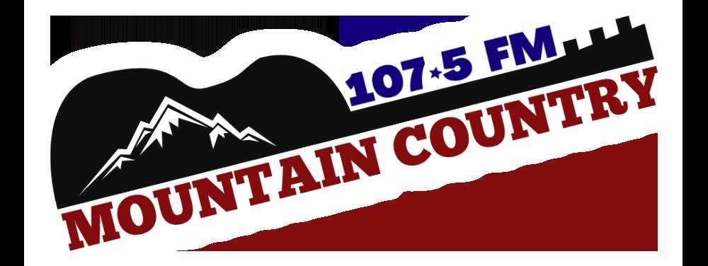 Mountain Country 107.5 Logo
